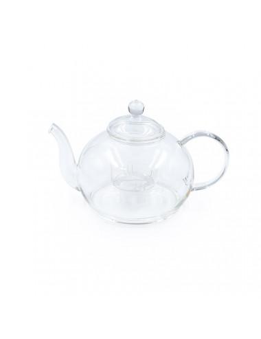 Elegante teiera in vetro con filtro estraibile su misura  - La Pianta del Tè vendita online