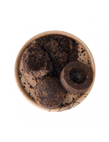 """Pu-erh Mini """"Toucha"""" tè nero - La Pianta del Tè shop online"""