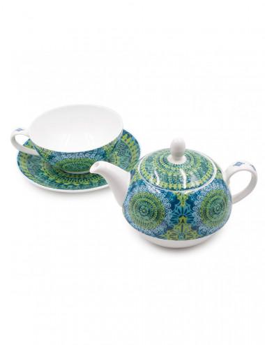 Tea For One teiera con tazza e piattino - La Pianta del Tè Store