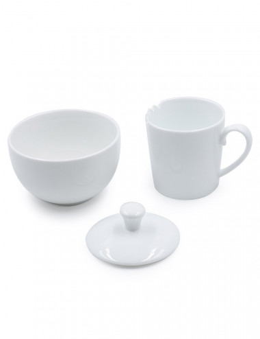 Set Tea tester composto da tazza infusore, coperchio e tazza senza manico -  La Pianta del Tè negozio on line