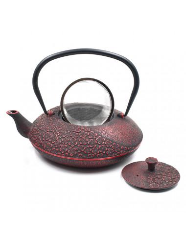 Teiera in ghisa con filtro rimovibile in acciaio inox - La Pianta del Tè Store online
