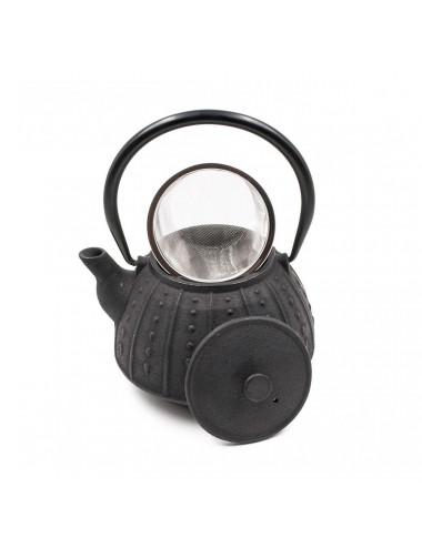 Teiera in ghisa con filtro rimovibile in acciaio Inox - La Pianta del Tè Acquista on line