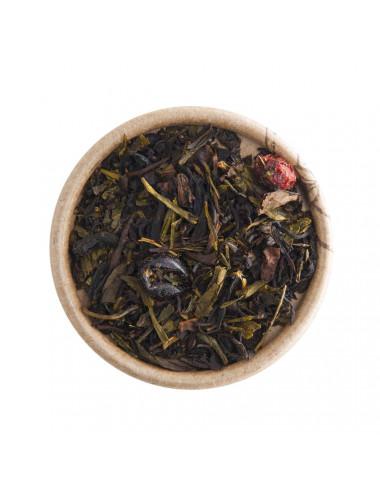 Oolong Frutti di Bosco tè blu-verde aromatizzato - La Pianta del Tè shop online