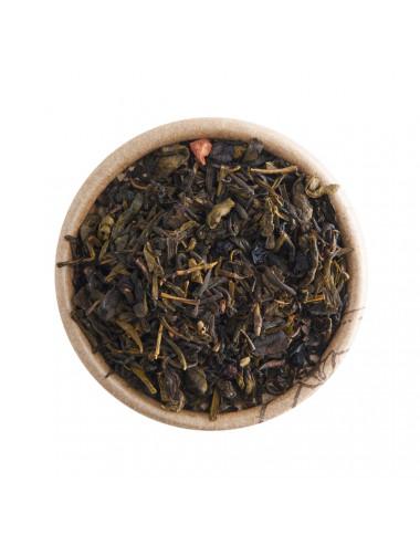 Lampone e Vaniglia tè verde aromatizzato - La Pianta del Tè shop online