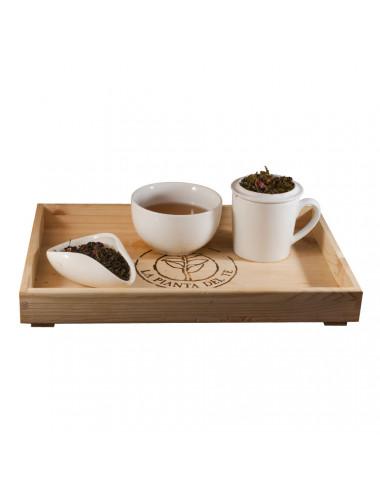 Tè verde Lampone e Vaniglia tea taster - La Pianta del Tè vendita online