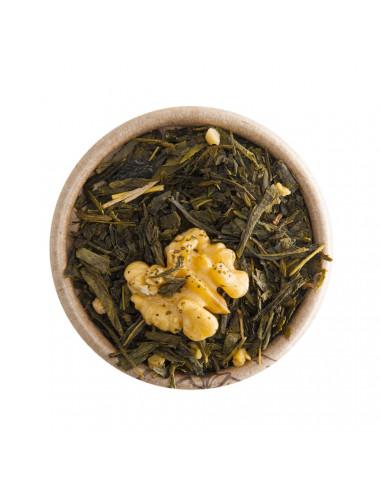 Noce e Sciroppo d'Acero tè verde aromatizzato - La Pianta del Tè shop online