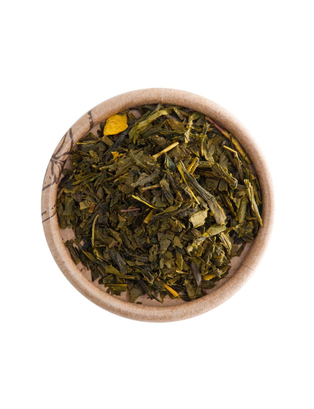Arancia BIO tè verde aromatizzato - La Pianta del Tè shop online