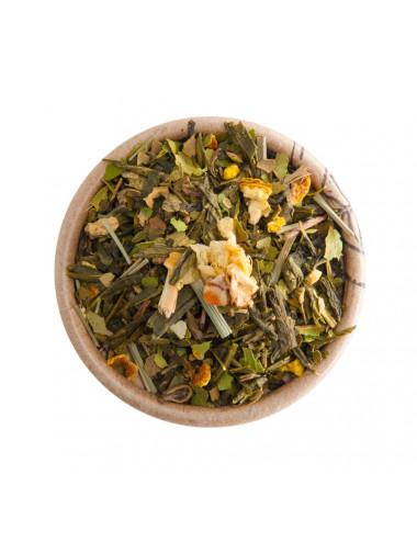 Limone e Zenzero tè verde aromatizzato - La Pianta del Tè shop online