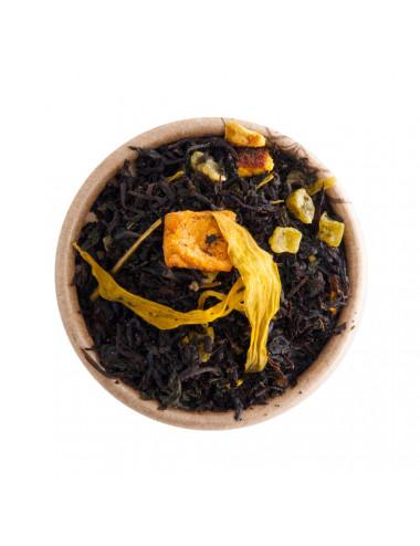 """""""Black Mojito"""" Lime e Menta tè nero aromatizzato - La Pianta del Tè shop online"""
