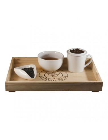 Tè nero alla Vaniglia Bourbon tea taster - La Pianta del Tè vendita online