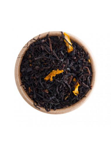 Albicocca e Champagne tè nero aromatizzato - La Pianta del Tè shop online