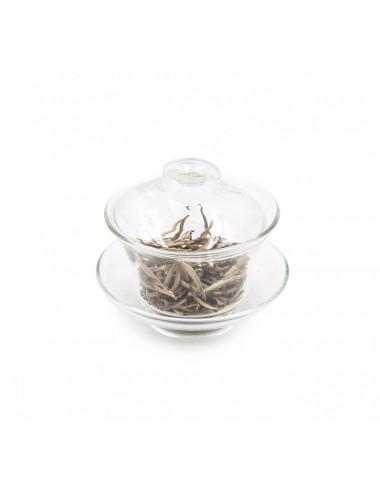 Gaiwan in vetro tradizionale con coperchio -  La Pianta del Tè shop online