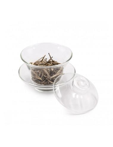 Gaiwan in vetro per preparare e bere il tè - La Pianta del Tè vendita online