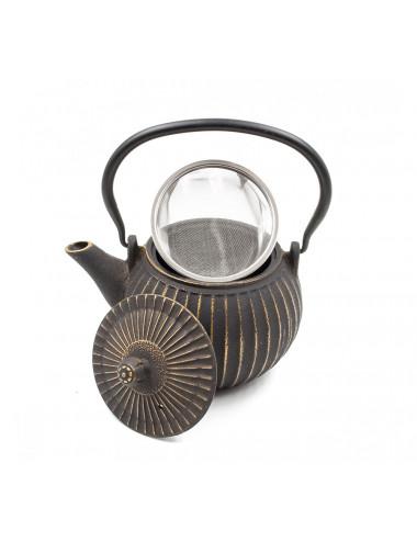 Teiera in ghisa con filtro rimovibile in acciaio Inox - La Pianta del Tè Store