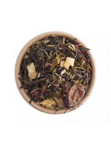 Prugna, Mirtillo e Gelsomino tè verde aromatizzato - La Pianta del Tè shop online
