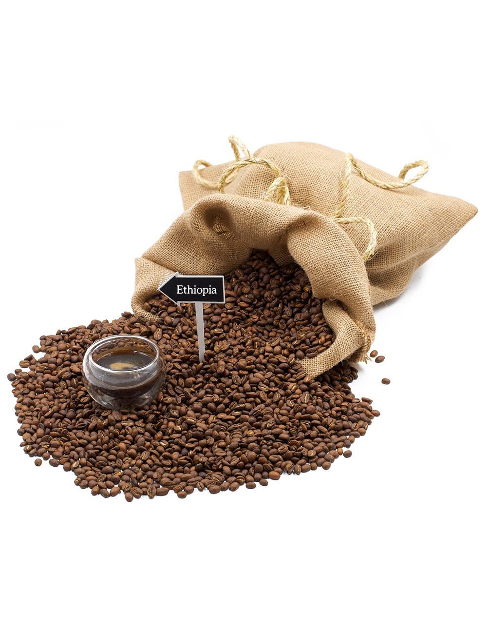 Caffè Ethiopia monorigine - La Pianta del Tè shop online
