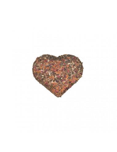 Cuore, tè verde pressato con petali di rosa - La Pianta del Tè acquista on line