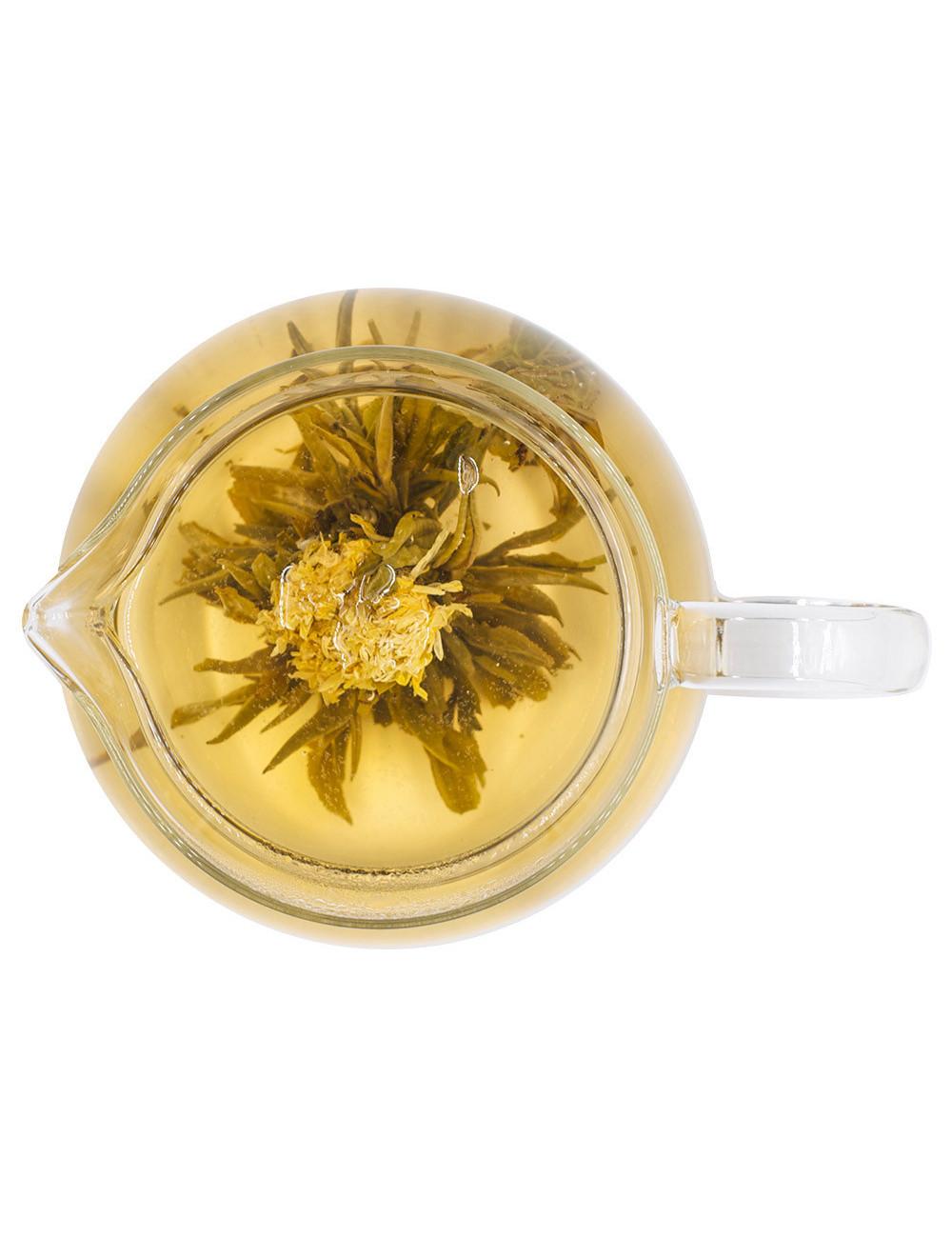 Fiore del sole Bouquet di tè verde - La Pianta del Tè shop online